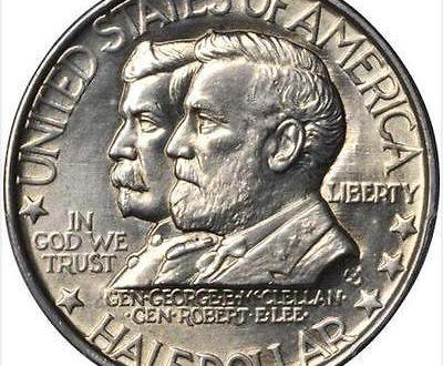 Antietam Commemorative Half Dollar