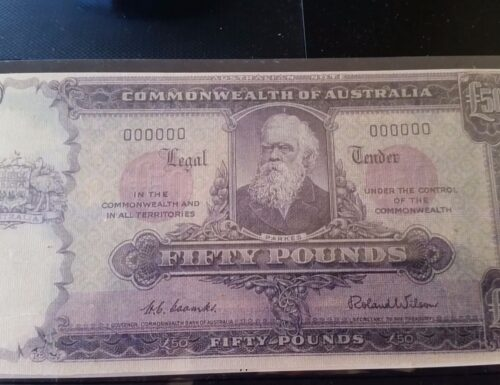What is this 50 pound note?