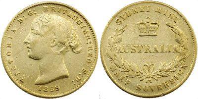 Sydney Mint Half Sovereigns