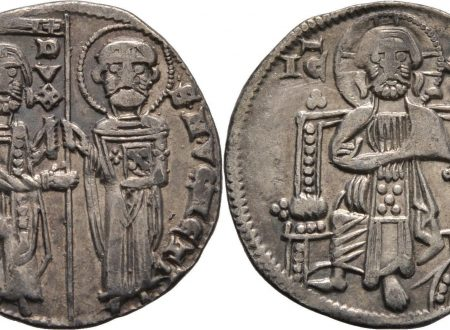A coin from medieval Venice