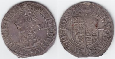 The Cylinder Press and an English Civil War Shilling from York